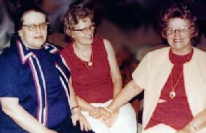 Della James,  Margaret Roberson, and Hattie Roberson